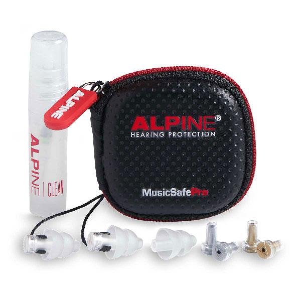 Špunty Alpine MusicSafe obsah balenia