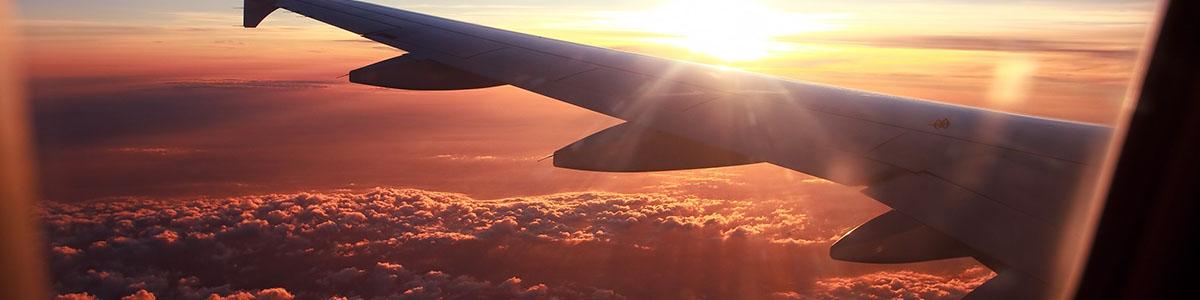 Špunty do uší do letadla