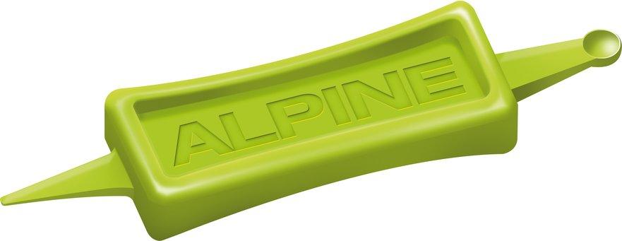 Špunty do uší na spanie Alpine SleepSoft Cleaner