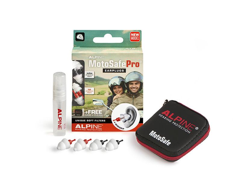 Alpine MotoSafe Pro Minigrip špunty do uší pro motorkáře