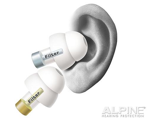 Alpine MusicSafe Classic špunty do uší pre muzikantov earplugs
