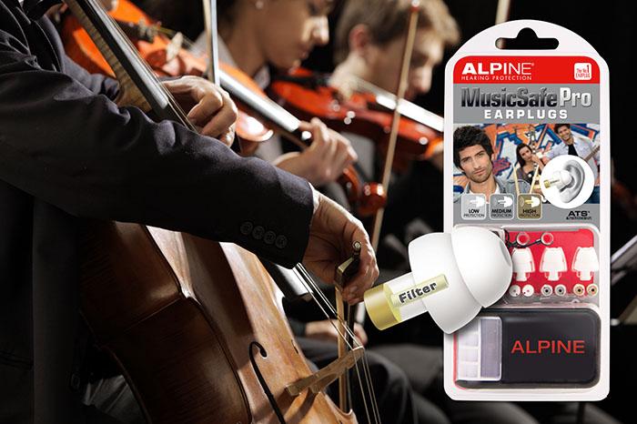 Alpine MusicSafe Pro s obrázkom