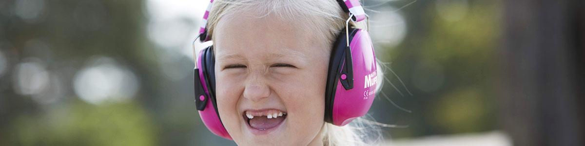 Chrániče sluchu pro děti