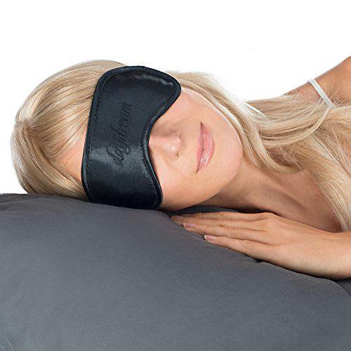Daydream Basic Black Čierna Maska na oči na spanie na pani