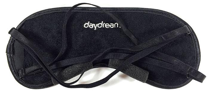 Daydream Basic Black Černá maska na oči na spaní