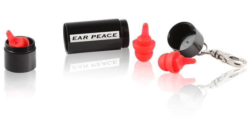 EarPeace S Špunty do uší proti hluku do práce Čierne puzdro