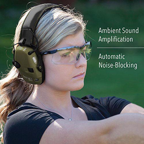 Howard Leight chrániče sluchu Impact Šport zelený pani