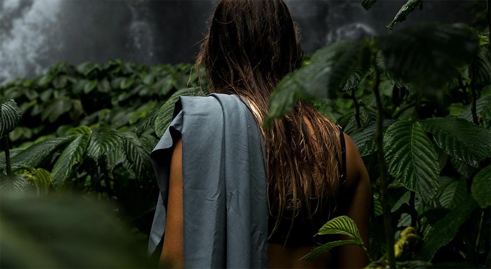 Matador skladacie uterák v lese