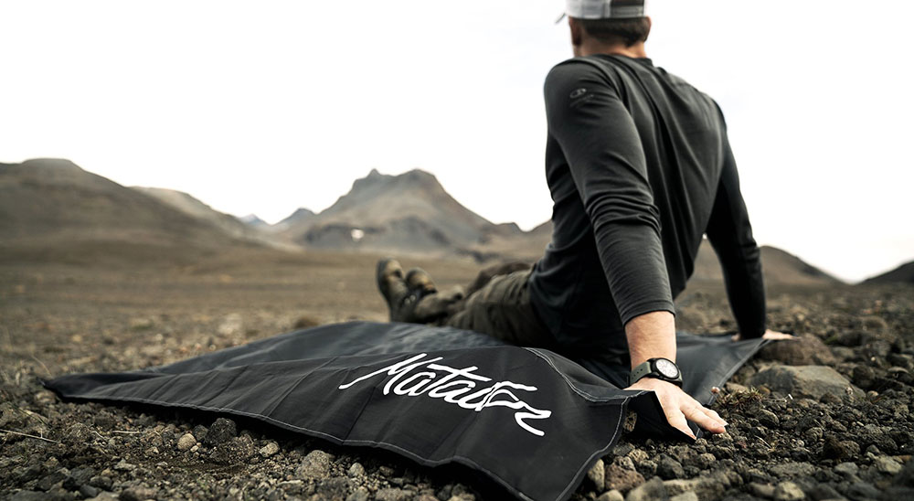Matador ultraľahká deka Pocket Blanket čierna
