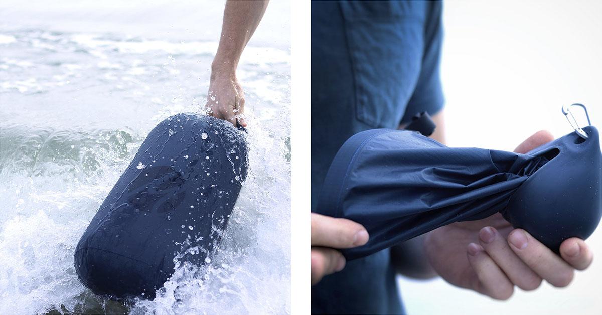 Matador vodeodolný skladací vak na oblečenie Droplet XL 2